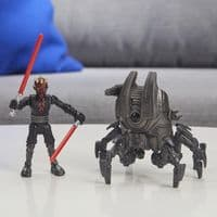 Star Wars Mission Fleet Gear Class Darth Maul - Sith Probe Pursuit - Action Figure and Vehicle